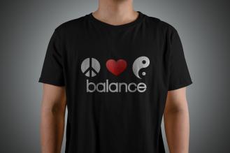 1. T-Shirt balance2