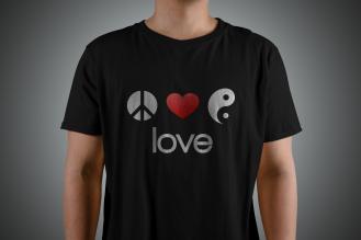 1. T-Shirt love2